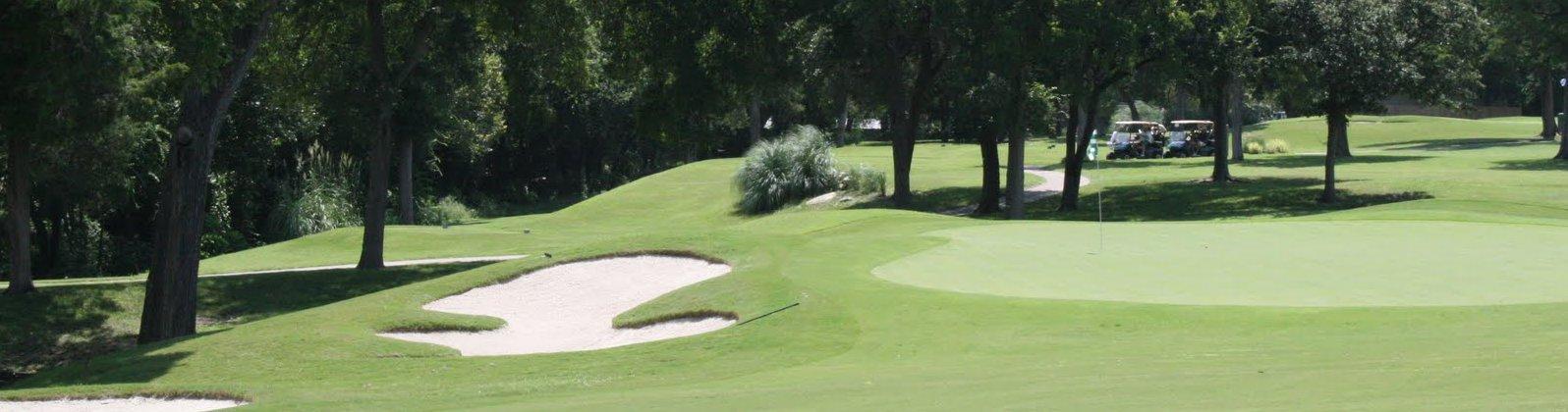 The Golf Club of Dallas Dallas Golf Courses Map on